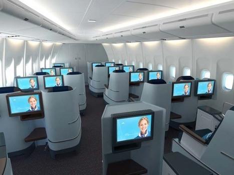 KLM dévoile sa nouvelle classe affaire – vidéo | Airliners | Scoop.it