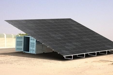Osmosun : un dessalinisateur solaire d'eau de mer | EFFICYCLE | Scoop.it