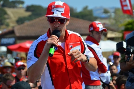 Nicky Hayden and Andrea Dovizioso to appear at Ducati Indy tomorrow (Thursday) | Ductalk Ducati News | Scoop.it