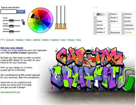 The Graffiti Creator | Utilidades TIC para el aula | Scoop.it
