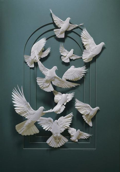 Expressive Masterpiece Collection of Paper Art Sculptures   Xposed   Scoop.it