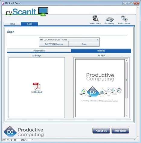 Fmscanit, scan your documents into Filemaker | ...