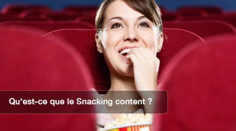 Le snacking content pour le community manager ! | Entreprise et Stratégie Digitale | Scoop.it