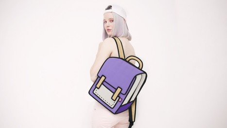 #Optical #Illusion #Bags That Look Like They've Jumped Out of a #ComicBook. #art #fashion | Luby Art | Scoop.it