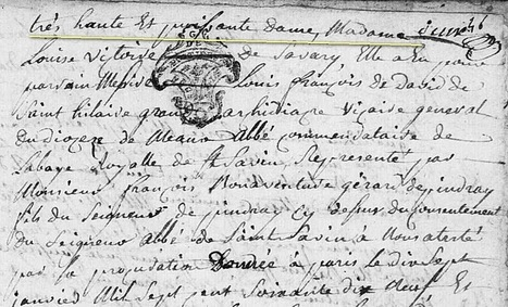 Les baptêmes au 18éme siècle... - Généablogique | GenealoNet | Scoop.it