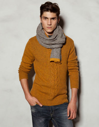 The Best Scarves for Men FallWinter 20122013  Men Chic Mens  Best Mens Scarves 2012