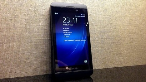 BlackBerry Z10 Gets Priced On Optus | All Technology Buzz | Scoop.it