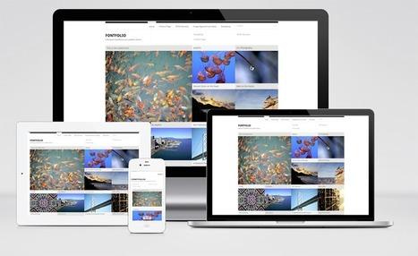 FontFolio, plantilla WordPress.com Responsive para mostrar tus galerías de Fotos | Recursos Web Gratis | Scoop.it