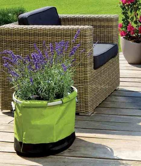 Stylish Lightweight Pot You Can Handle | Urban Gardens | Unlimited Thinking For Limited Spaces | Urban Gardens | Annie Haven | Haven Brand | Scoop.it