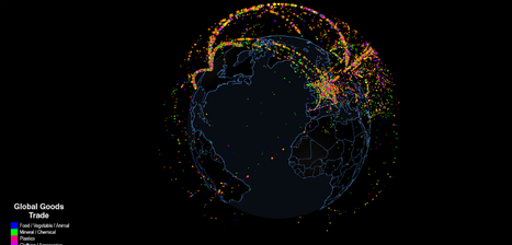 Watch: All the World's Global Trade in One Interactive Map | Educational Technology | Scoop.it
