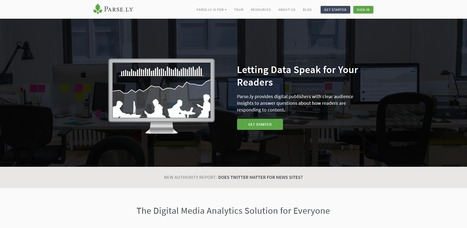 Parse.ly | Audience Data and Analytics for Digital Media Publishers | Digital Culture | Scoop.it