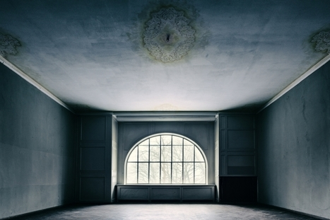 The emptiness of abandoned houses and military bases   photography art   Scoop.it