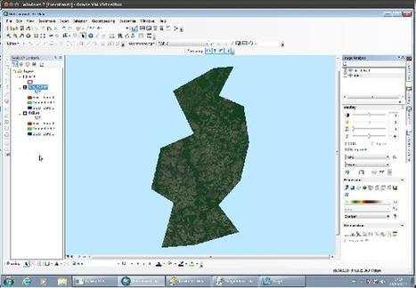 ArcGIS 10: Image Analysis - Recorte de Imagem | Remote Sensing News | Scoop.it
