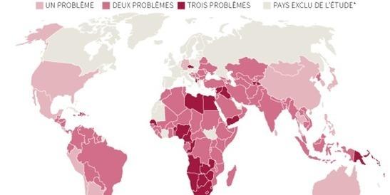 La malnutrition n'épargne plus aucun pays dans le monde
