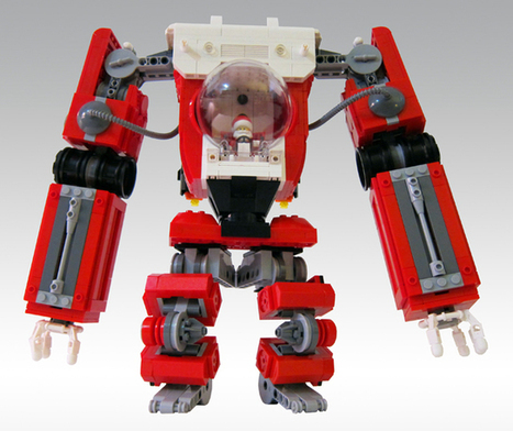 Custom LEGO Santa Claus Mech | JohnieTidwell.com | Scoop.it
