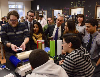 City expanding library program connecting teens, techology - Chicago Sun-Times | innovative libraries | Scoop.it