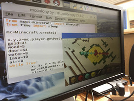 Constructing Colonial Technologies in Minecraft Pi | Learning on the Digital Frontier | Scoop.it