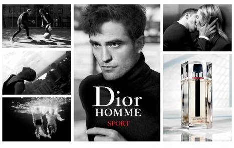 NEW Picture Of Robert Pattinson For Dior Homme Sport Perfume (2017)  | Robert Pattinson Daily News, Photo, Video & Fan Art | Scoop.it
