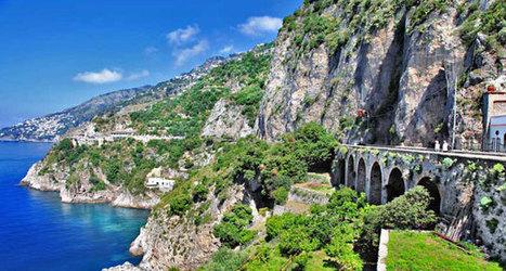 Explore Sea And Shore Along The Amalfi Coast - Global Traveler | Italia Mia | Scoop.it