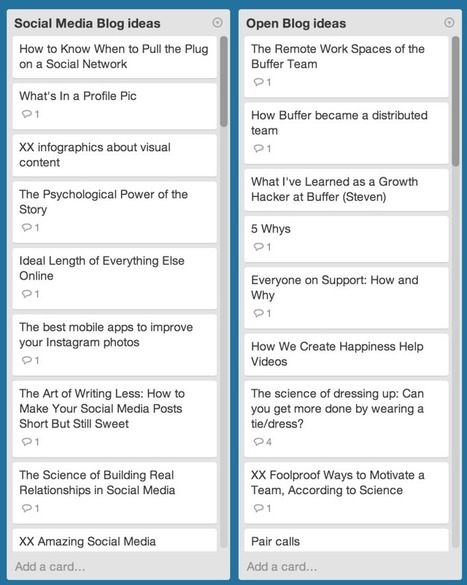 The Ultimate List of 95 Blogpost Ideas for Content Creators | Curating Information | Scoop.it