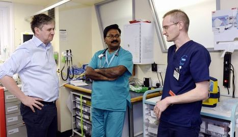 Barrow MP visits front line NHS staff battling the ongoing winter crisis | nhswatch | Scoop.it