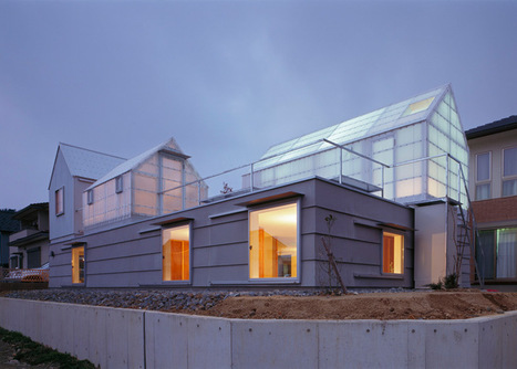 Materiality, Light + Thermal Control: House in Yamasaki by Tato Architects | sustainable architecture | Scoop.it