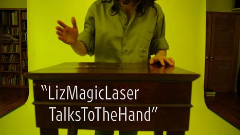 Liz Magic Laser Talks to the Hand | Art21 | we ART | Scoop.it