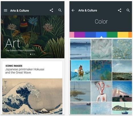 Google Arts et Culture glisse 850 musées dans la poche - Les Outils Google | Tice Fle, Ele | Scoop.it