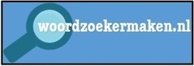 Maak met Woordzoekermaken.nl je eigen woordzoeker. | Nieuwsbrief H. van Schie | Scoop.it