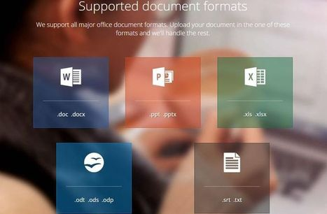 DocTranslator: utilidad web para traducir documentos y archivos, sin límites de tamaño | EFL- ESL Teaching & Learning Tools | Scoop.it