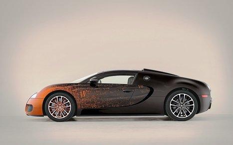Bugatti veyron side view