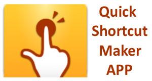 quick shortcut maker apk 6 0 1