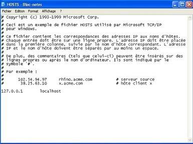 Tutoriel sur les serveurs: Les fichiers hosts   Résolution de noms d'hôtes   Cours Informatique   Scoop.it