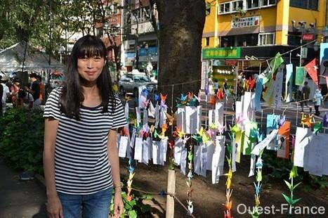 Masami a porté à Sendai les messages lannionnais | maville.com | Japon : séisme, tsunami & conséquences | Scoop.it