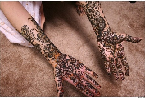 Mehndi Design For Bridal Collection : Bridal mehndi designs for hands beautiful meh