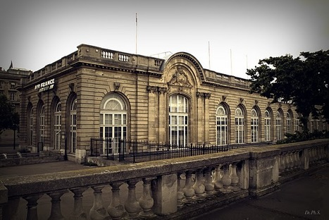 1867 - La Gare des Invalides | Paris Unplugged | Scoop.it