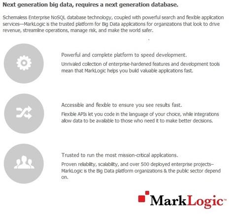 What is MarkLogic? | MarkLogic - Enterprise NoSQL Database | Scoop.it