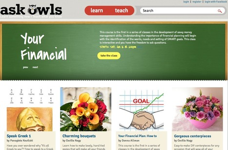 Welcome to AskOwls: Online lessons in virtually any subject | one-to-one teaching and learning environment | Scoop.it