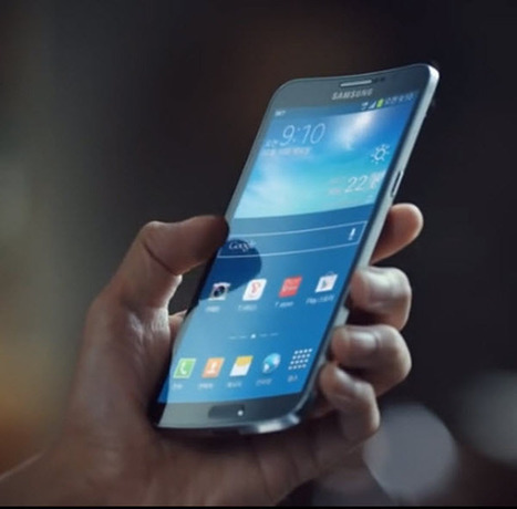 Samsung Airs the First TV Commercial for its new Galaxy Round | Smartphone, Tablet & TechGadget | Scoop.it