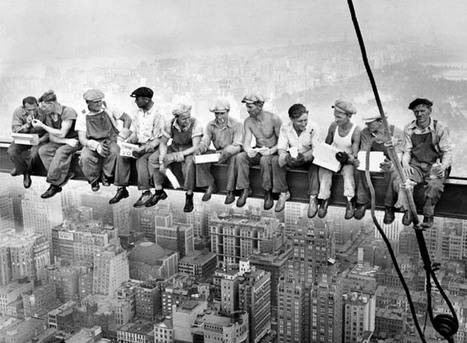 """Iconic """"Atop a Skyscraper"""" Photographs May Have Been Staged Publicity Stunts 