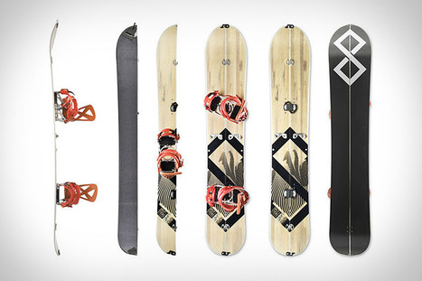Splitsticks - All in one skiing, snowboarding, hiking system | Gadgets I lust for | Scoop.it