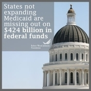 What Is the Result of States Not Expanding Medicaid? | Medicaid Reform for Patients and Doctors | Scoop.it