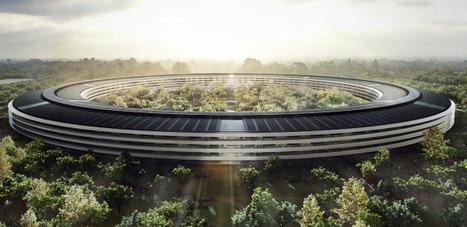 Les dernières images du futur méga campus d'Apple | Apple World | Scoop.it
