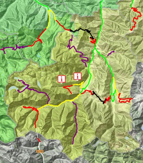Conditions de circulation routière en Aure & Louron le 18 janvier (08:32) - InfoRoute65 | Vallée d'Aure - Pyrénées | Scoop.it