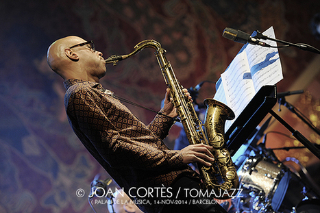 Trondheim Jazz Orchestra & Joshua Redman & Eirik Hegdal (Palau de la Música Catalana, Barcelona 14-11-2014) | JAZZ I FOTOGRAFIA | Scoop.it