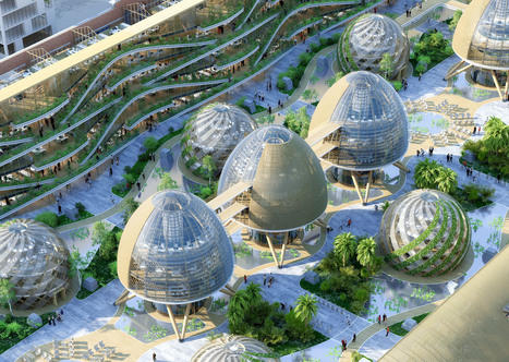 Vincent Callebaut envisions Belgium's industrial zone as an amazing energy-generating community | Innovative & Sustainable Building | Scoop.it