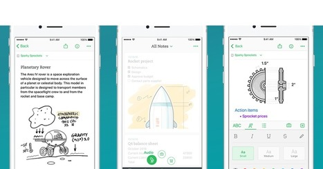 Evernote aims for speed and simplicity with its new iOS app | mlearn | Scoop.it