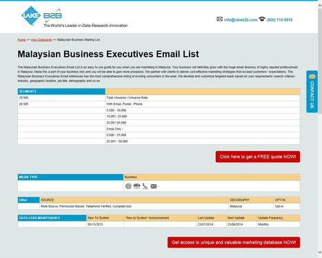 International Email List, Page 9 | Scoop it