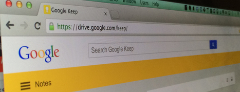 Google Keep updated with the ability to quickly search text in photos and a new look | MarketingHits | Scoop.it