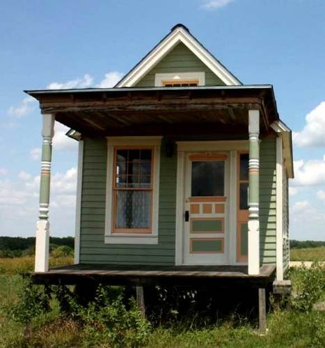 Tiny House Real View | Kevin I Mills | Scoop.it